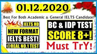 IELTS LISTENING PRACTICE TEST 2020 WITH ANSWERS | 01.12.2020 | REAL IELTS LISTENING TEST 2020