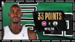 Garnett Goes Off For 33 PTS In 2008 ECF Game 5   #NBATogetherLive Classic Game
