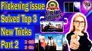 Flickering kese thik kare and Aim hilta hai all problem solved Top 3 New Tips and Tricks  !!Part 2!!