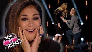 TOP 10 ROMANTIC Auditions EVER On Got Talent, X Factor And Idol!