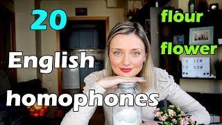 2x1: Top 20 English homophones!