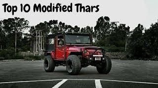 Top 10 Modified Thars in India | Mahindra Thar | Off-road