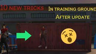 Free fire | top 10 new hide place | training mode after update |