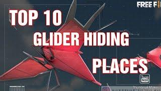 ✌️TOP 10 GLIDER HIDING PLACE ✌️