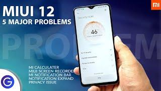 MIUI 12 Top 5 Major Problems - Still You want to Install MIUI 12?⚡⚡