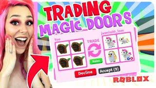 I TRADED Only NEW MAGIC DOORS In Adopt Me For 24 HOURS! (Roblox Adopt Me Trading)