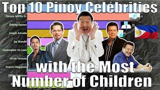 Top 10 Pinoy Celebrities with the Most Number of Children