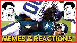 Eagles vs Seahawks NFL Playoffs 2020 (MEMES & Reactions of post game analysis & full game highlights