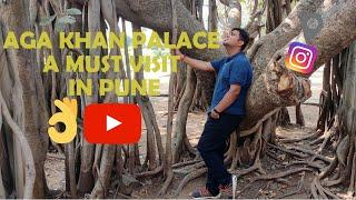 Aga Khan Palace Pune India // Places to visit pune// Top 10 tourist place // #onlycinematic// Vlog 8