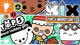 TOP 5 Worst Christmas Gifts In Toca Life: World!! - Toca Life Mix - 2019 UPDATE!!!! - Toca Boca
