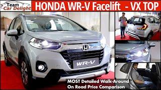 New Honda WRV 2020 Facelift Live Walkaround,On Road price | Honda WRV Review