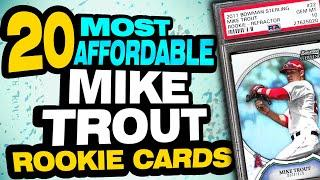 TOP 20 Most Affordable Mike Trout Rookie Cards to Invest in Today!