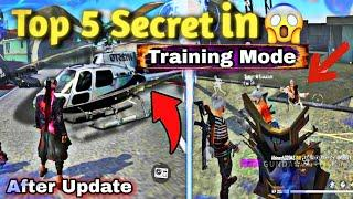 Free Fire Top 5 Secret in Training Mode After Update | Training Mode Bugs & Glitch | part 2