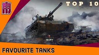 TOP 10 -  favourite tier 1 to 10