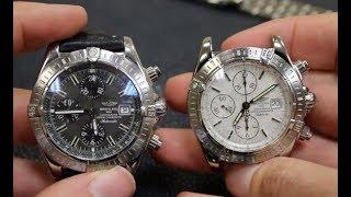 How to Spot a Fake Breitling Chronomat Evolution - Real Vs Fake