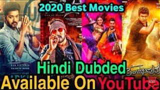 Top 5 Big South Indian Movies Hindi Dubbed | Available On Youtube| Fk Movies Studio