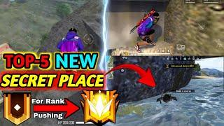 Top-5 Best Hidden & Secret Place in Free Fire For Rank Pushing