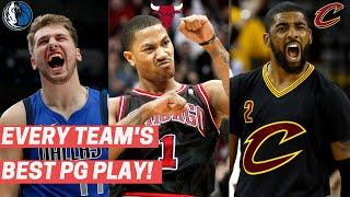 Every Team's Best Play by a Point Guard! (Last Decade)