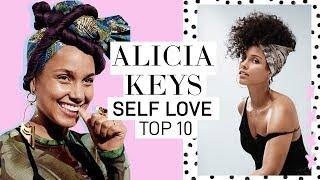 ALICIA KEYS' TOP 10 RULES FOR SELF LOVE