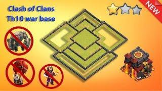 BEST TH10 WAR BASE DESIGN FOR 2020 | Town Hall 10 Base Anti Valky,Anti LavaLoon,Anti GoWi