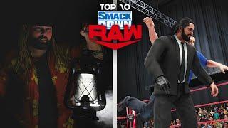 WWE 2K20 - Top 10 Smackdown vs RAW Moments | June 15/19, 2020 | ft. WWE 2K19