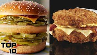 Top 10 Discontinued Fast Food Items You Can't Buy In 2020