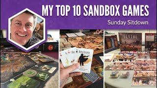 My Top 10 Favorite Sandbox Games