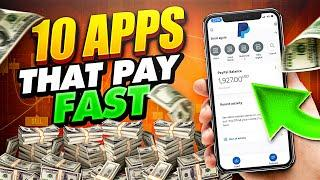 TOP 10 APPS That Pay You FREE PAYPAL MONEY Fast! - NO WORK (Make Money Online Fast!)