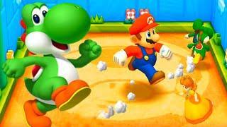 Mario Party The Top 100 MiniGames - Luigi Vs Mario Vs Yoshi Vs Daisy (Master Cpu)