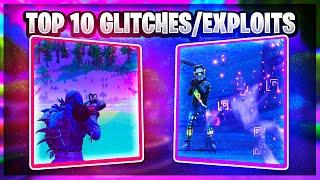 TOP 10 BIGGEST GLITCHES/EXPLOITS IN FORTNITE HISTORY!