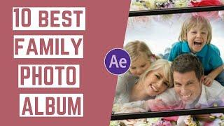 Top 10 Family Photo Album Slideshow After Effects Templates 2020