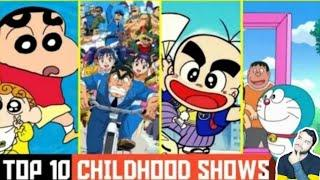 TOP 10 CHILDHOOD SHOWS |90'S KIDS SHOWS