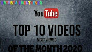 Top 10 most viewed viral video of the month! 2020