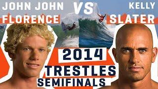 Kelly Slater VS John John Florence - Semifinals 2014 Hurley Pro @ Trestles | WSL REWIND