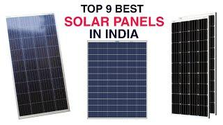 Top 9 Best Solar Panel in India With Price 2020 | Best Solar Panels For Home