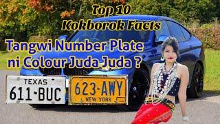 New Kokborok Video || Number Plate || Top 10 Interesting Facts || Ep-13