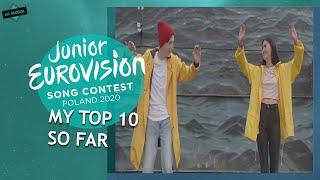 JUNIOR EUROVISION 2020: MY TOP 10 (So Far) // From The Netherlands