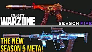 Call Of Duty WARZONE: The SEASON 5 META! (BEST WEAPONS)