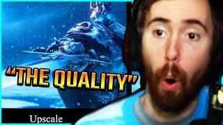 Asmongold Is STUNNED By The Quality On These Re-Done WoW Cinematic Trailers