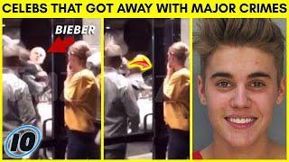 Top 10 Celebrities That Got Away With Major Crimes