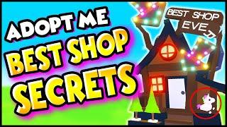 TOP 10 *INSANE SECRETS* in THE BEST SHOP EVER in Adopt Me U NEVER NOTICED! Adopt Me Hacks & Secrets!
