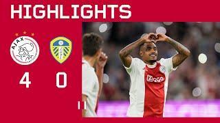 We end PreSeason in style | Highlights Ajax - Leeds United | PreSeason Friendly