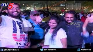 New Year Celebrations at Country Club with Dance and Music | New year 2020 | Hyderabad | TV5 News