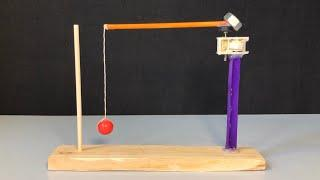 Science Project for School - How to Make a Flying Pendulum Escapement Mechanism