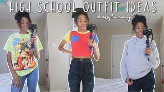 SCHOOL OUTFIT IDEAS/ MY FAVORITE OUTFITS FOR SCHOOL (DRESSY 2 COMFY)