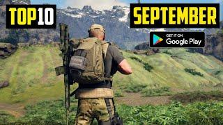 TOP 10 NEW ANDROID GAMES IN SEPTEMBER 2020 | HIGH GRAPHICS (Online/Offline)