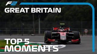 Top 5 Formula 2 Moments | 2020 British Grand Prix
