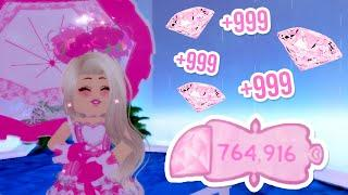 How To Get 100K DIAMONDS In ONE Hour! Best Royale High School Farming Tips // Roblox