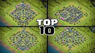 TOP 10 TH13 War Base With Copy Link - BEST Anti 3 Star TH13 Base - Clash of Clans - #4