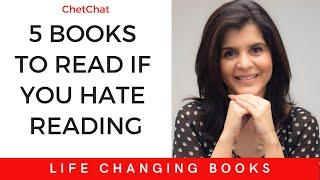 5 Books You Must Read in 2020 If You Hate Reading | Life Changing Books | ChetChat